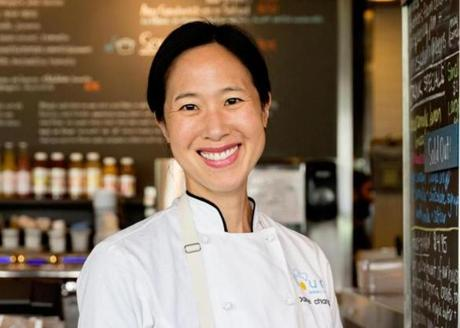 Joanne Chang, owner of Flour Bakery and Cafe.